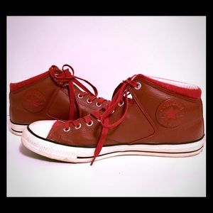 Converse Shoes - Converse Chuck Taylor Red Leather All Star SZ 11 6dfb0daf4